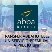Tranfer abbaHoteles, servicio premium a precio mini