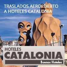Trasladps aeropuerto a Hoteles Catalonia en Barcelona a precios especiales